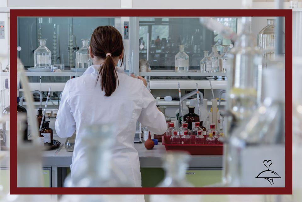 camici da laboratorio chimico